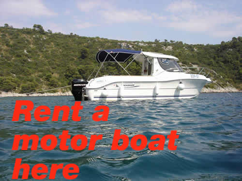 Apartments for rent Croatia Trogir - rent a boat
