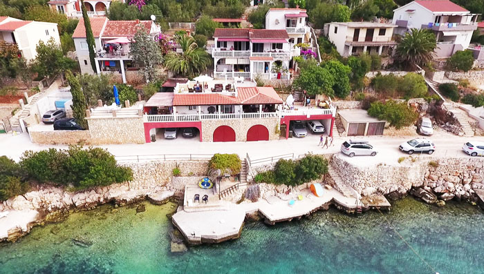 Croatia private apartments for rent - Villa Carmen holiday house